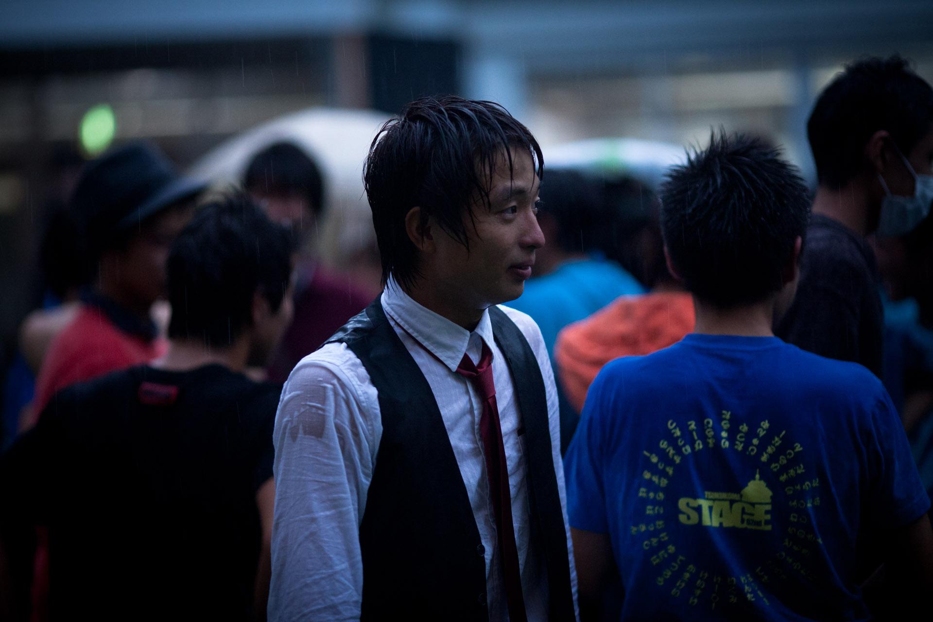 豪雨と共に文化祭閉幕